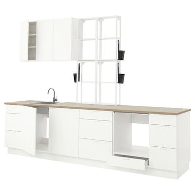 ENHET Küche, weiß, 323x63.5x241 cm