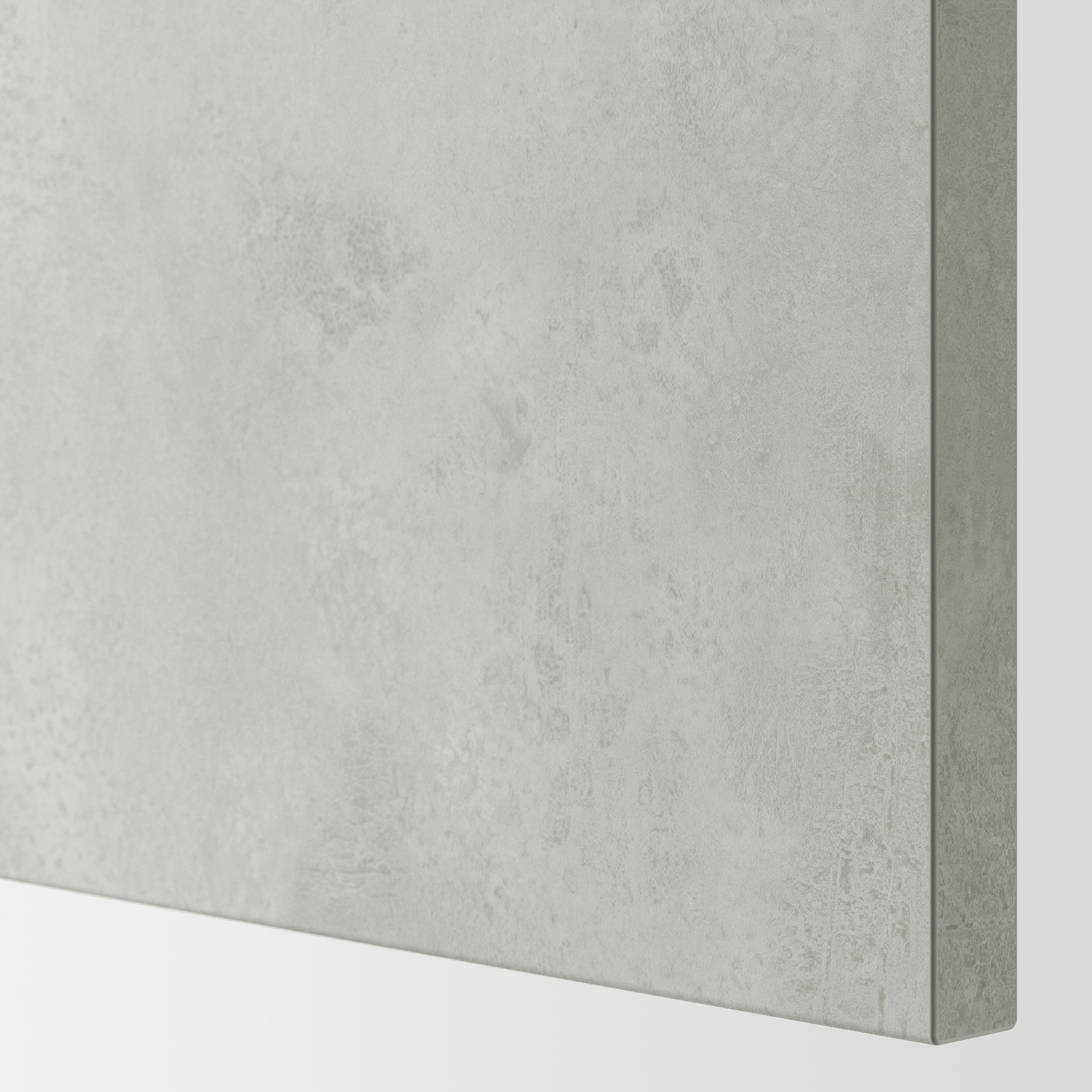 ENHET Wandschrank m 2 Böden/Türen, grau/Betonmuster, 60x17x75 cm