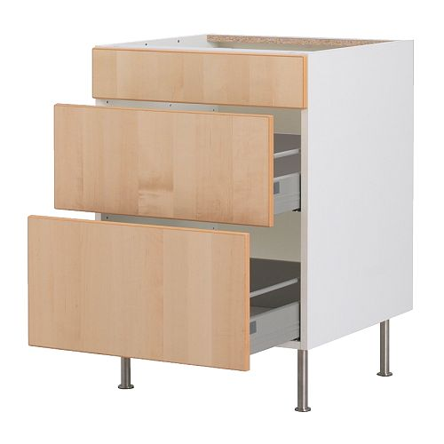 Küchenunterschrank ikea  Ikea schubladenschrank küche – Küchengestaltung kleine küche