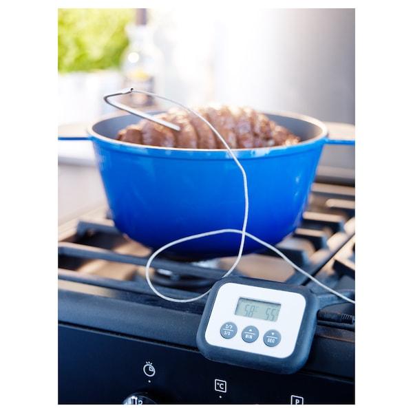 FANTAST Fleischthermometer/Küchenwecker, digital schwarz