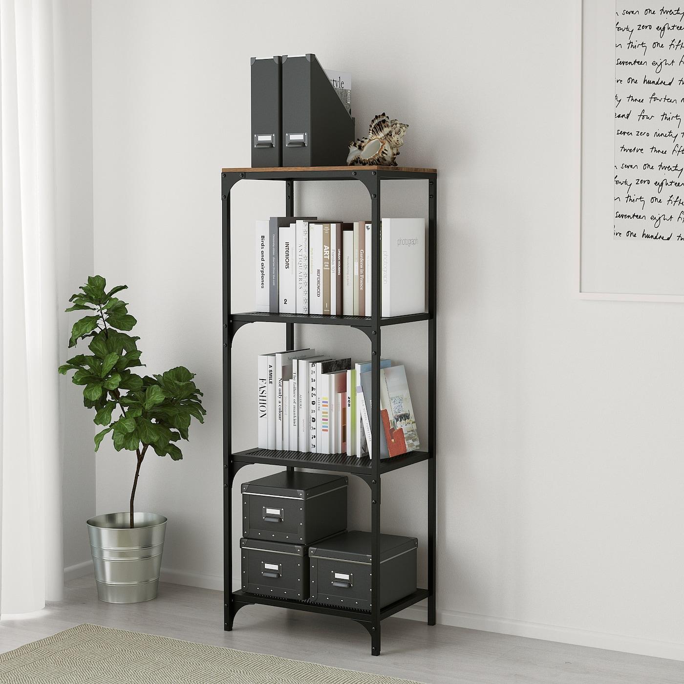 Fjallbo Regal Schwarz Ikea Osterreich