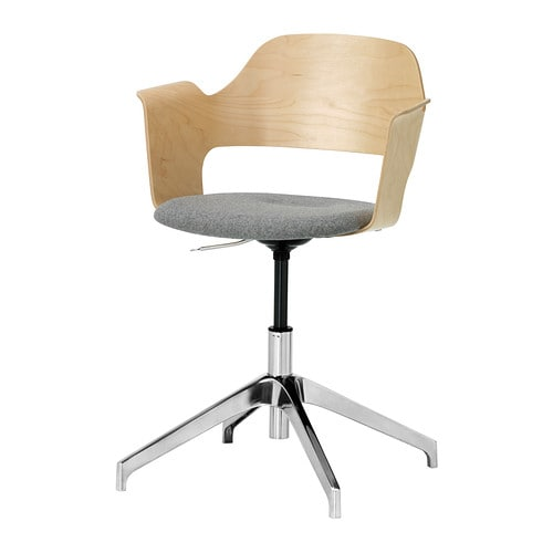 fj llberget konferenzstuhl birkenfurnier grau ikea. Black Bedroom Furniture Sets. Home Design Ideas