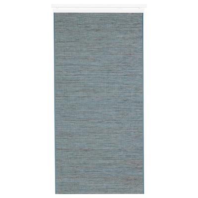 FÖNSTERVIVA Schiebegardine, blau/grau, 60x300 cm