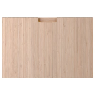 FRÖJERED Schubladenfront, Bambus hell, 60x40 cm