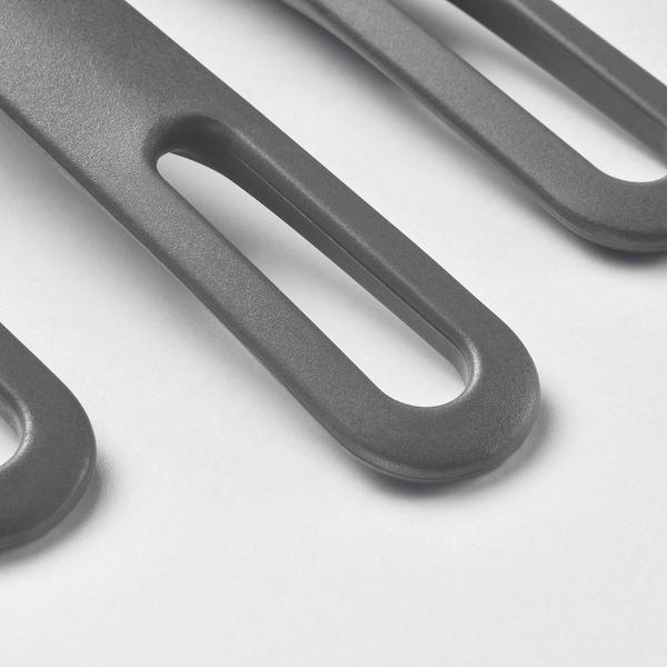 FULLÄNDAD Küchenutensilien 5-tlg., grau