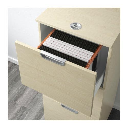 Aktenschrank ikea  GALANT Aktenschrank - Birkenfurnier - IKEA