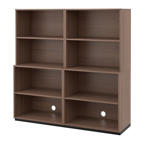 GALANT Aufbewahrungskomb. offen - grau - IKEA