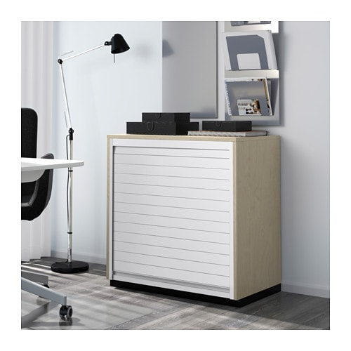 Jalousieschrank ikea  GALANT Jalousieschrank - Birkenfurnier - IKEA