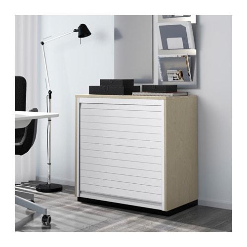 Jalousieschrank ikea  GALANT Jalousieschrank - schwarzbraun - IKEA