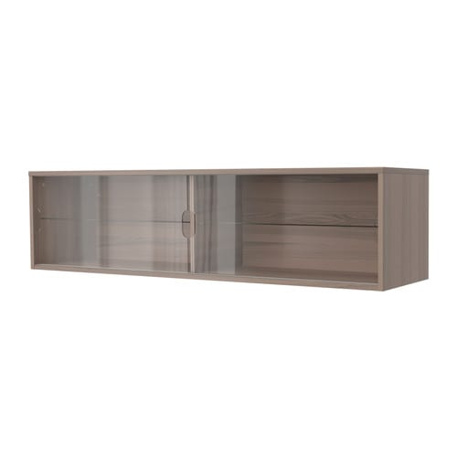 galant wandschrank mit schiebet ren grau ikea. Black Bedroom Furniture Sets. Home Design Ideas