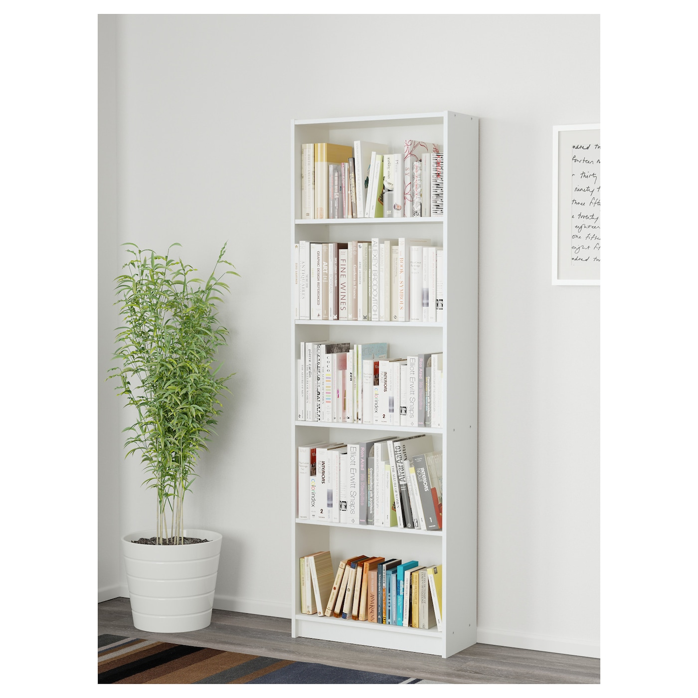 GERSBY Bücherregal klassisch, weiß & besonders günstig