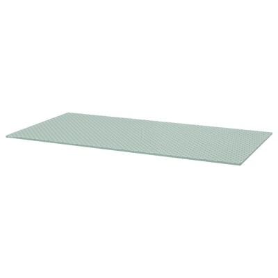 GLASHOLM Tischplatte, Glas/Wabenmuster, 148x73 cm