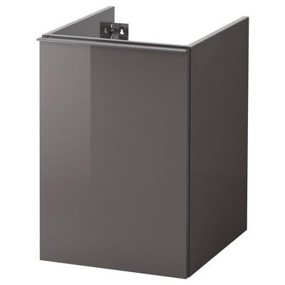 GODMORGON Wäscheschrank Hochglanz grau 40 cm 47 cm 58 cm