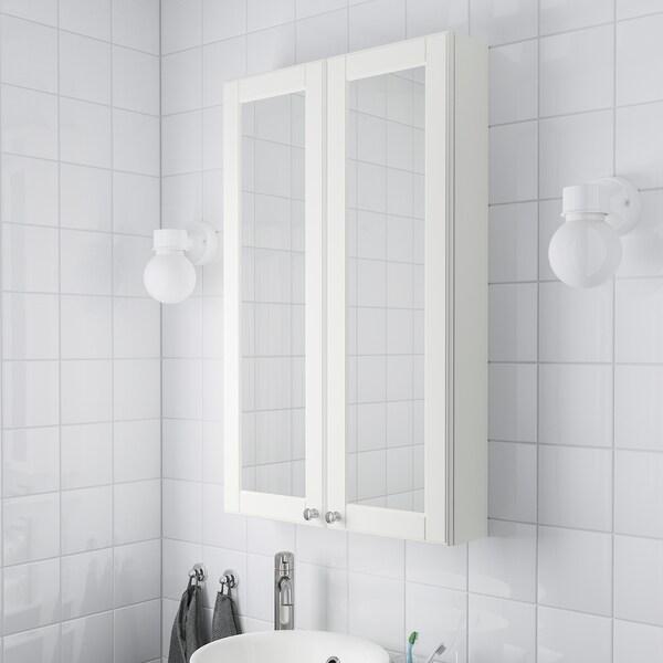 GODMORGON Spiegelschrank 2 Türen - Kasjön weiß - IKEA ...