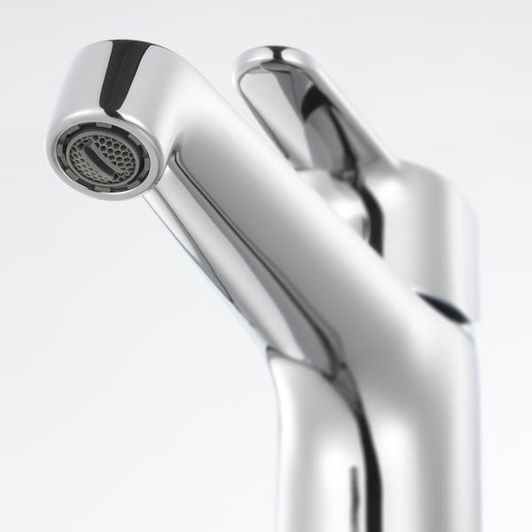 GODMORGON/TOLKEN / HÖRVIK Waschbeckenschr+Aufsatzwaschb 45x32, Hochglanz grau/anthrazit BROGRUND Mischbatterie, 62x49x72 cm