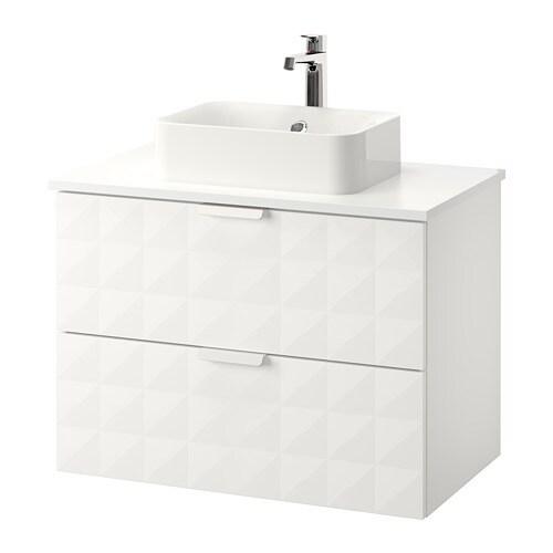 godmorgon tolken h rvik waschbeckenschr aufsatzwaschb 45x32 wei resj n wei ikea. Black Bedroom Furniture Sets. Home Design Ideas