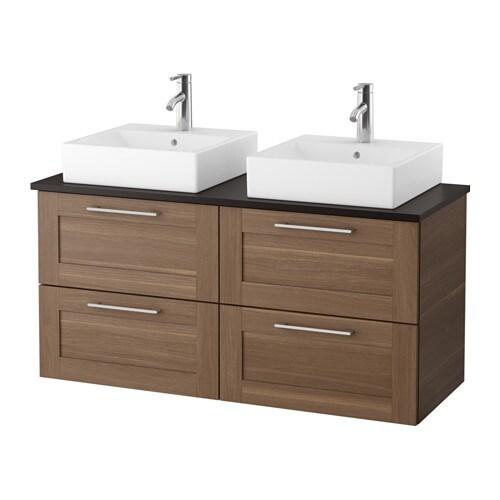 godmorgon tolken t rnviken waschbeckenschr aufsatzwaschb 45x45 anthrazit. Black Bedroom Furniture Sets. Home Design Ideas