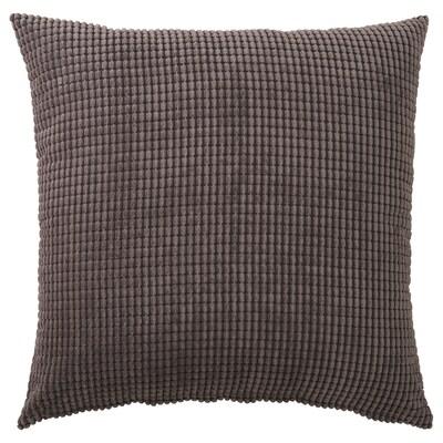 GULLKLOCKA Kissenbezug, grau, 65x65 cm