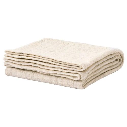 GURLI Plaid weiß/beige 180 cm 120 cm