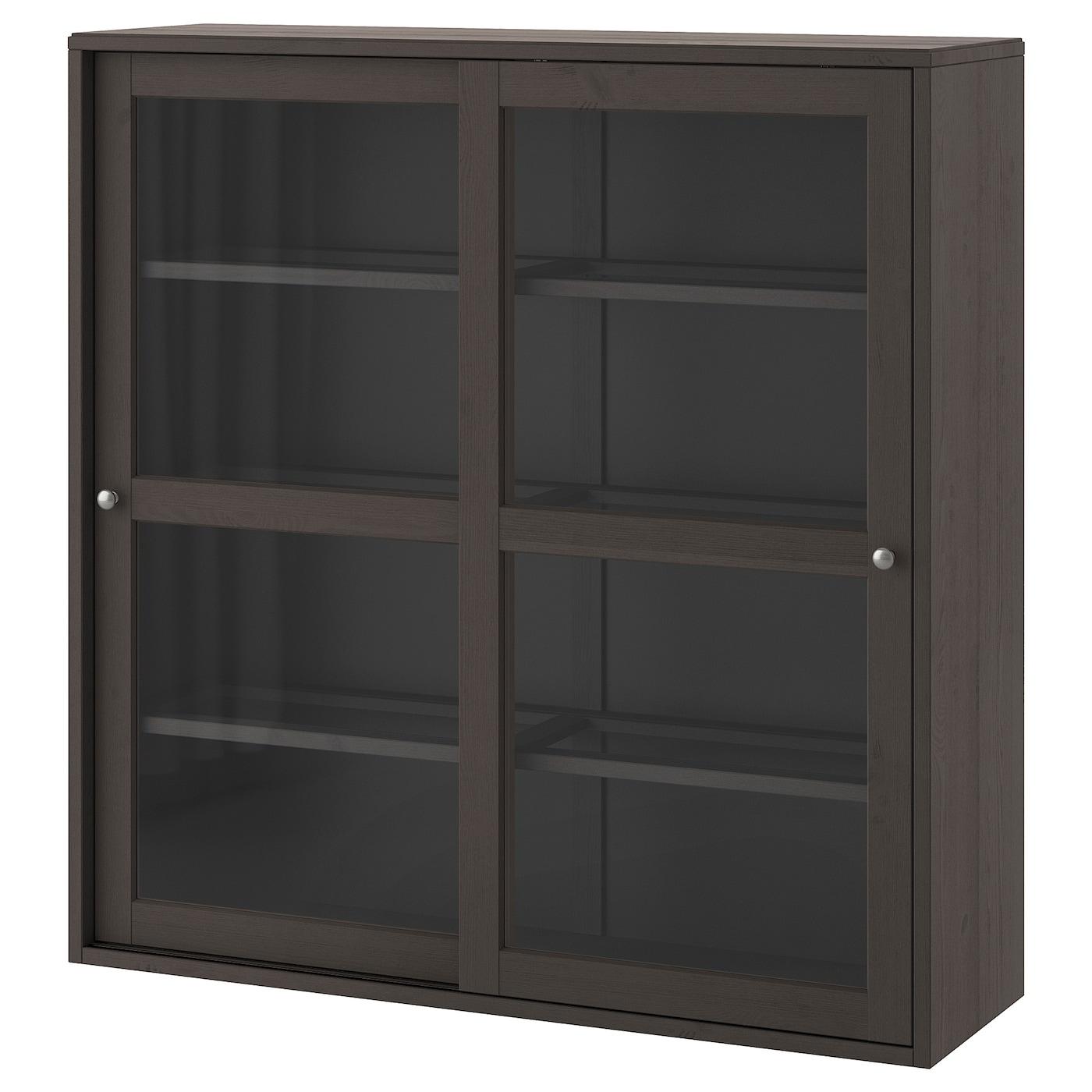 HAVSTA Vitrine dunkelbraun IKEA Österreich