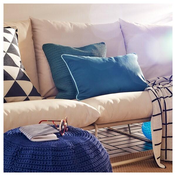 HAVSTEN 3er-Sofa, drinnen/draußen ohne Armlehnen/beige 245 cm 94 cm 90 cm 62 cm 42 cm