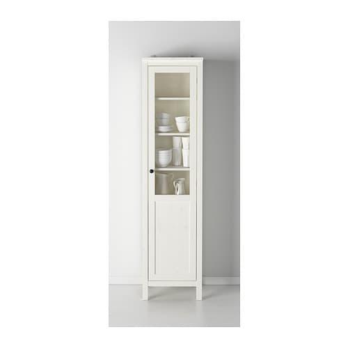 Schrank ikea hemnes  HEMNES Schrank mit Paneel-/Vitrinentür - schwarzbraun - IKEA