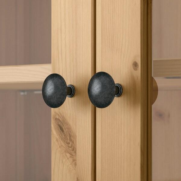 HEMNES Sekretär mit Aufsatz und Regal hellbraun IKEA