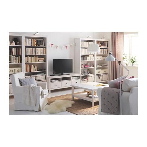 HEMNES TV-Bank - weiß gebeizt - IKEA