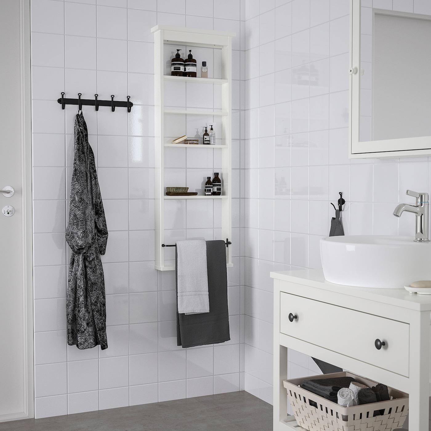 HEMNES Wandregal weiß 42x118 cm