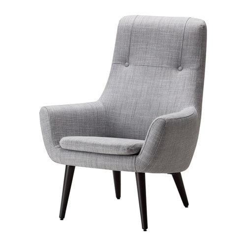 Ikea sessel isunda grau  HEMSTANÄS Sessel mit hoher Rückenlehne - IKEA