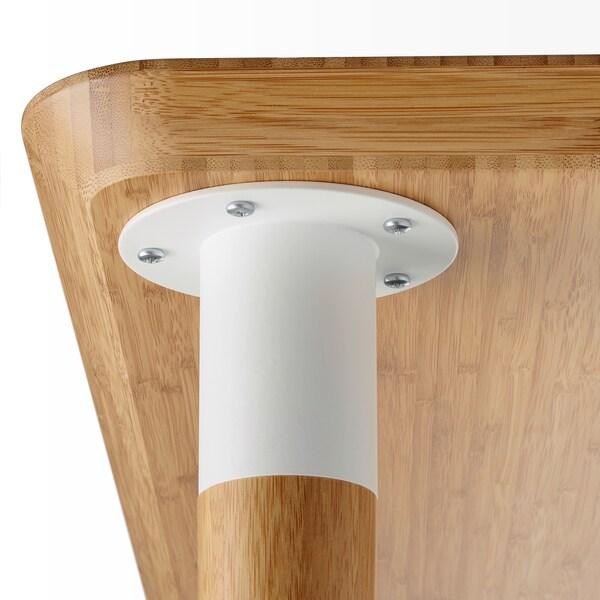 HILVER Bein konisch Bambus 700 mm