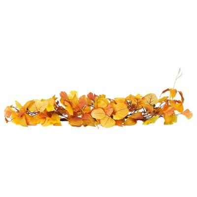 HÖSTPROMENAD Girlande, Blatt gelb, 80 cm