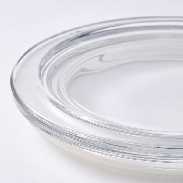 IKEA 365+ Deckel, rund/Glas