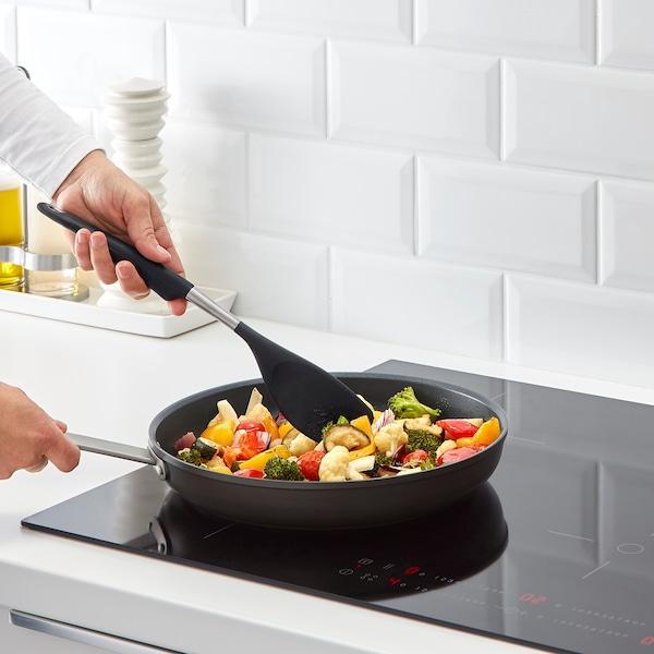 IKEA 365+ HJÄLTE Rührspachtel, Edelstahl/schwarz