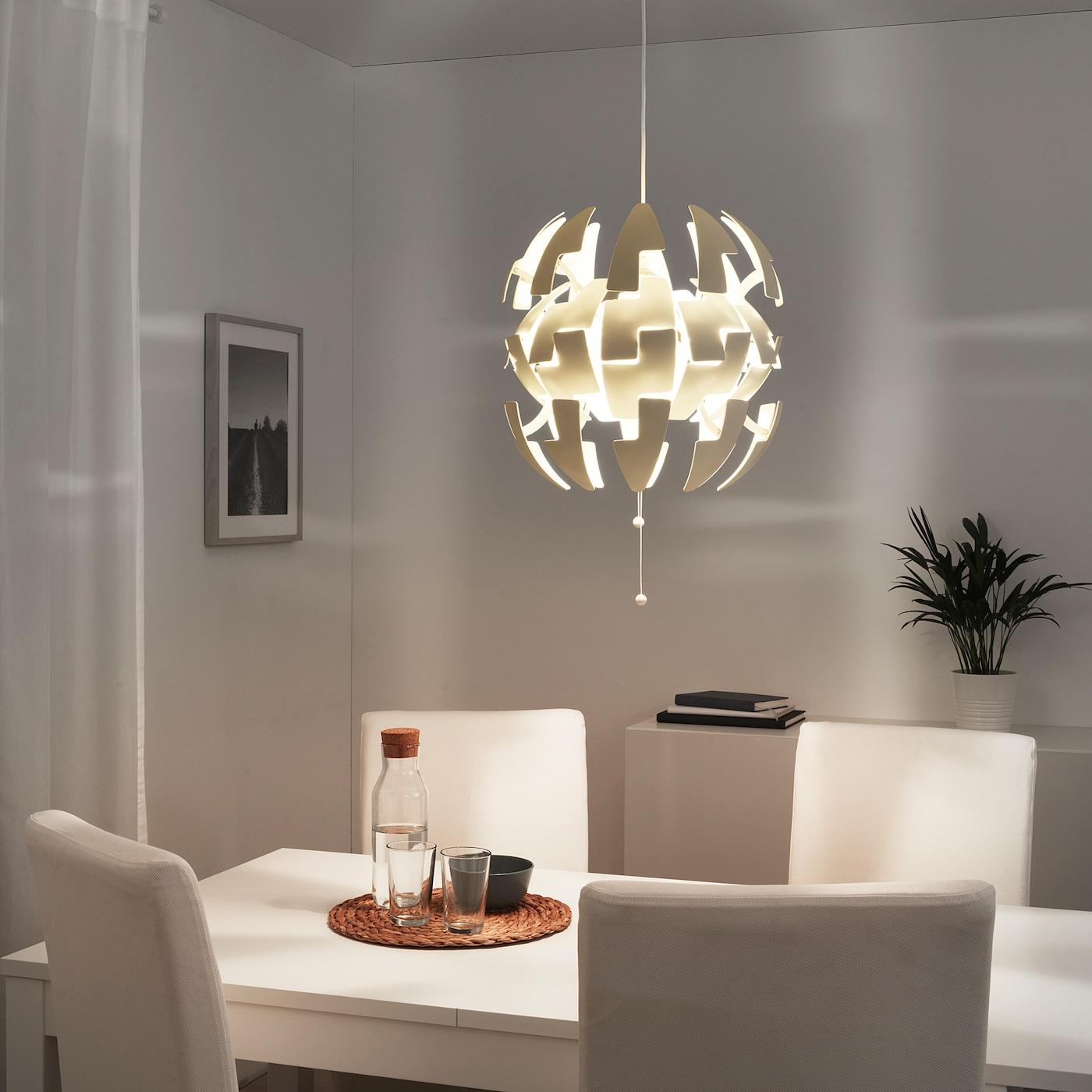 IKEA PS 2014 Hängeleuchte weiß 35 cm