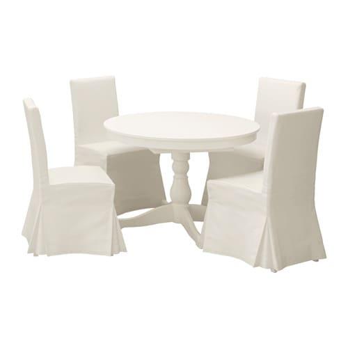 ingatorp henriksdal tisch und 4 st hle ikea. Black Bedroom Furniture Sets. Home Design Ideas