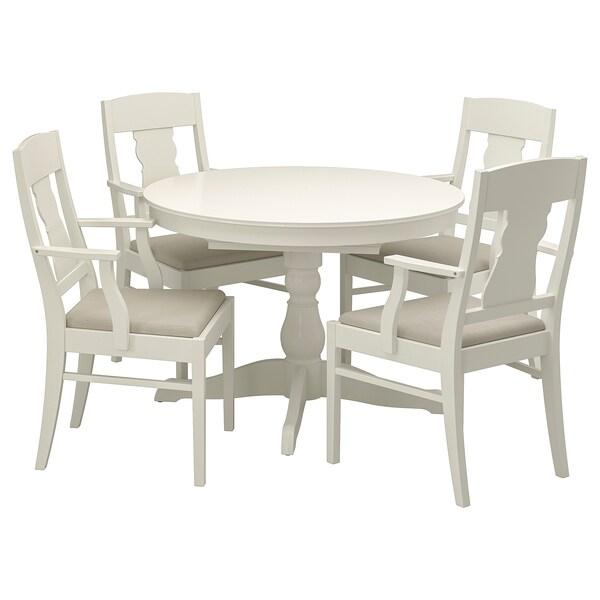 Ingatorp Ingatorp Tisch Und 4 Stuhle Weiss Hier Kaufen Ikea
