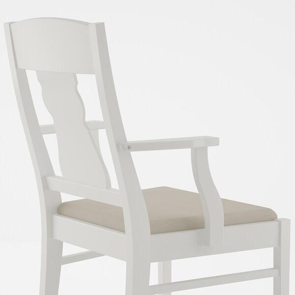 INGATORP / INGATORP Tisch und 4 Stühle, weiß, 155 cm