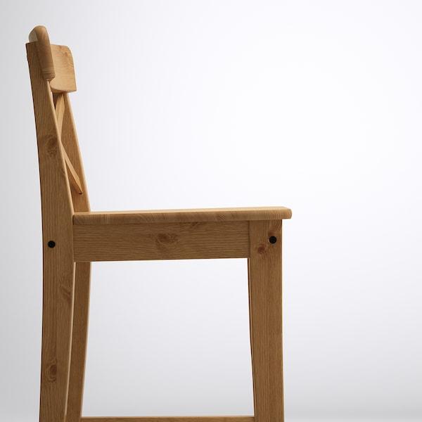 INGOLF Barhocker, Antikbeize, 74 cm