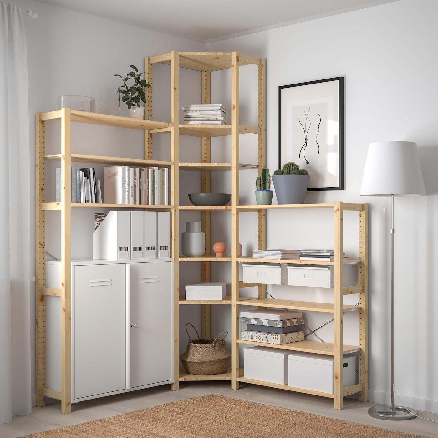 IVAR 3 ElemEcke Kieferweiß IKEA Österreich