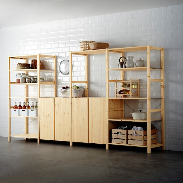 IVAR 4 ElemRegale, Kiefer. Heute noch bestellen IKEA