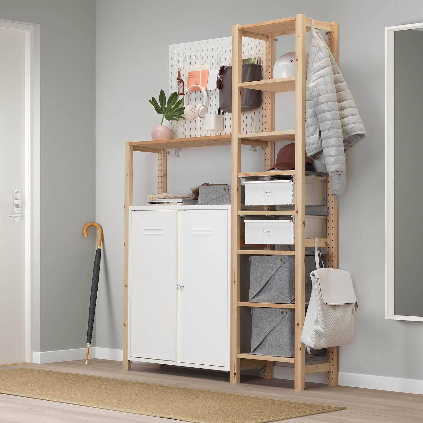 1x Schubladen Schubladeneinheit passend für Ikea IVAR Regal