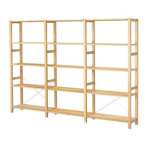 Kleiderschrank Ikea Begehbar ~ Startseite  Wohnzimmer  Regalsysteme  IVAR System Kombinationen