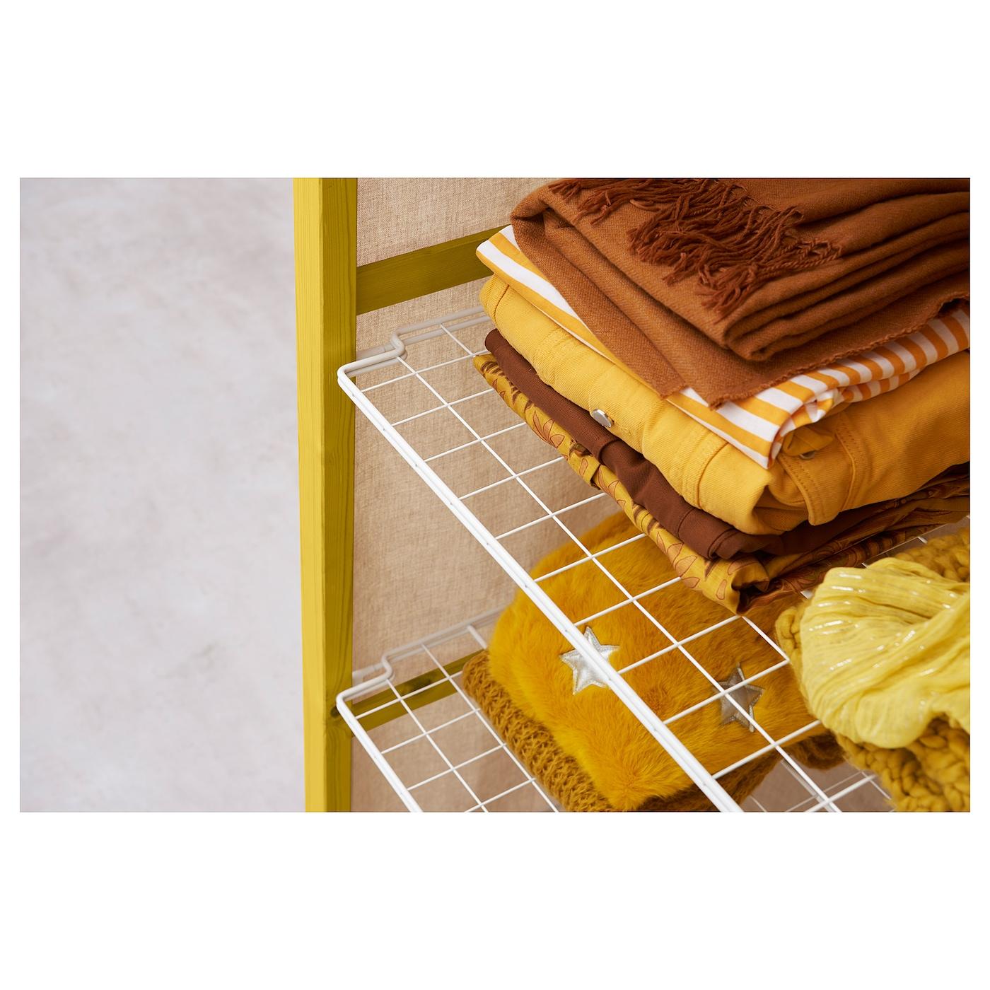 IVAR Regal + BödenStangenÜberzug beige IKEA Österreich