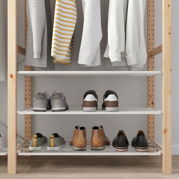 IVAR Regal mit BödenKleiderstangen Kiefer IKEA Österreich