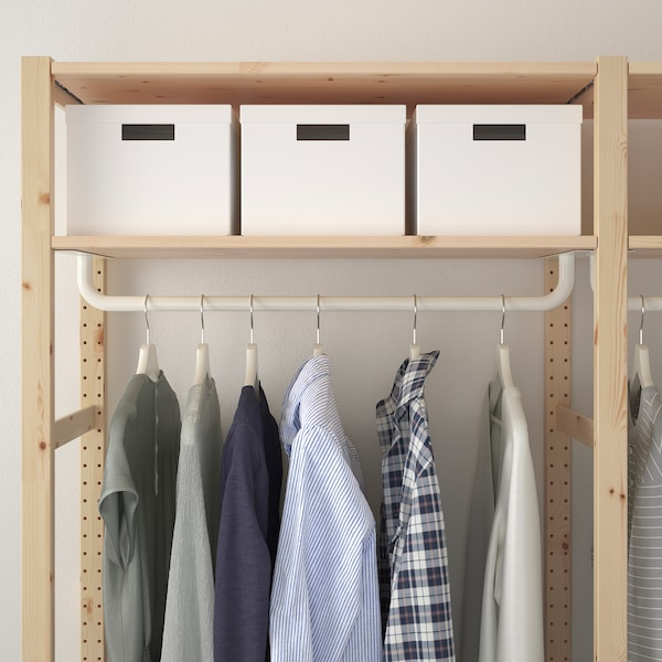 IVAR Regal mit Kleiderstange IKEA Österreich