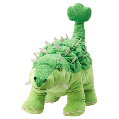 JÄTTELIK Stofftier, Dinosaurier/Dinosaurier/Ankylosaurus, 55 cm
