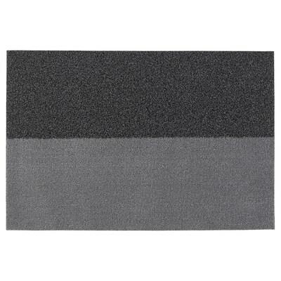 JERSIE Fußmatte, dunkelgrau, 60x90 cm