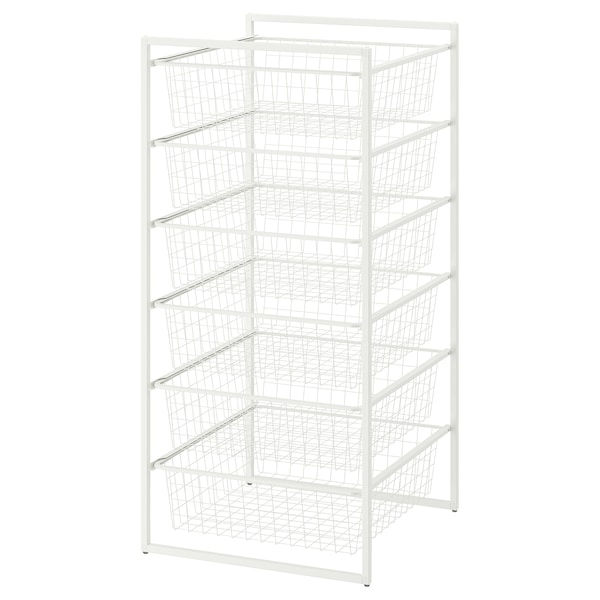 JONAXEL Rahmen mit drahtkörben weiß IKEA Österreich