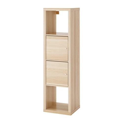 kallax regal mit 2 eins tzen ikea. Black Bedroom Furniture Sets. Home Design Ideas